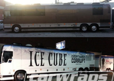 Ice Cube Tour Bus Wrap