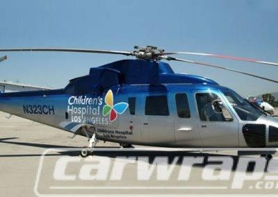 Helicopter Wrap Children's Hospital LA