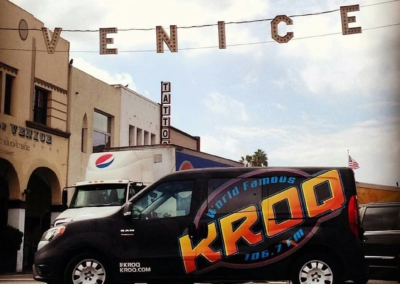 KROQ Los Angeles Van Wrap