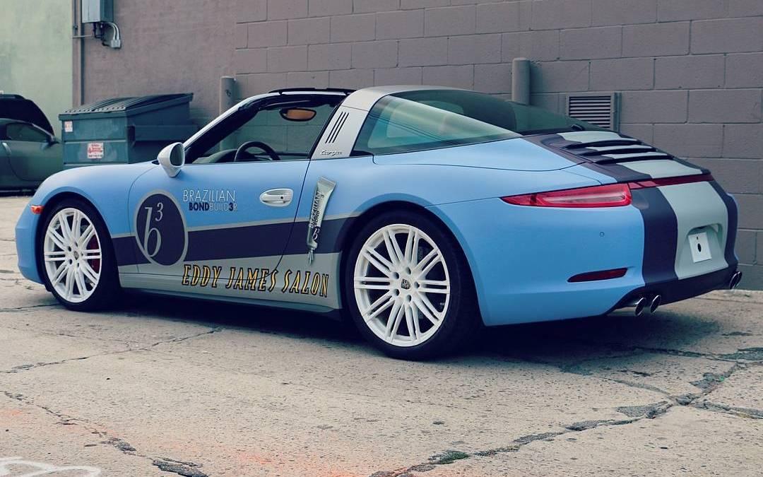 Porsche Wrap - Designed & Installed by #carwrapscom #car