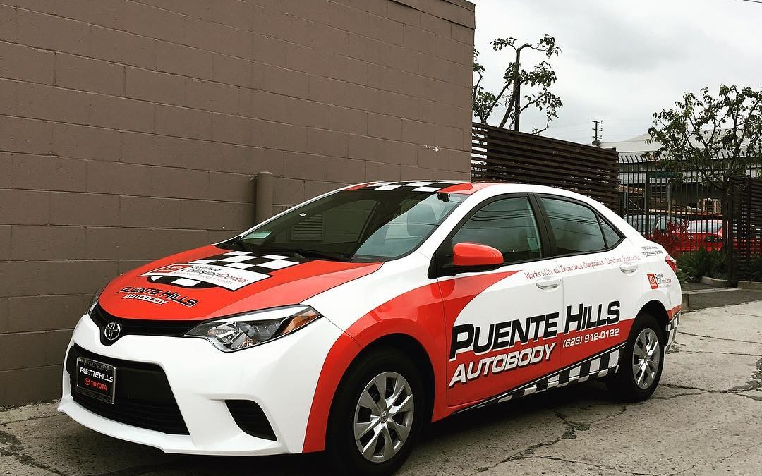 #toyota #carwrap For Puente Hills Autobody #carporn #carswithoutlimits  #carsofinstagram #losangeles