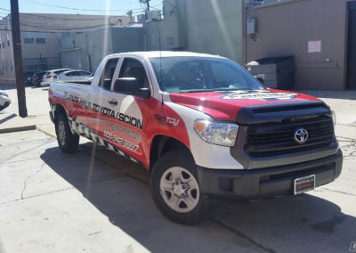 Puente Hills Toyota Truck Wrap