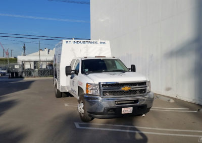 White LA County Caregiver Van Wrap
