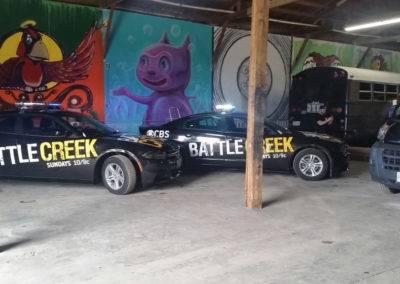 Battle Creek Car Wrap