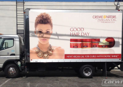Creme Nature Truck Side Wrap