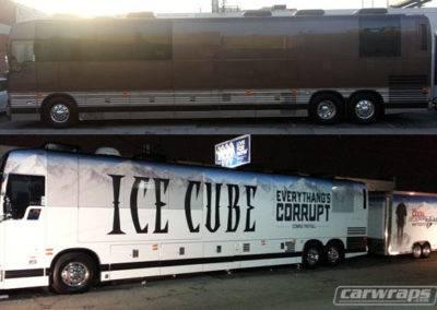 Ice Cube Tour Bus Wrap