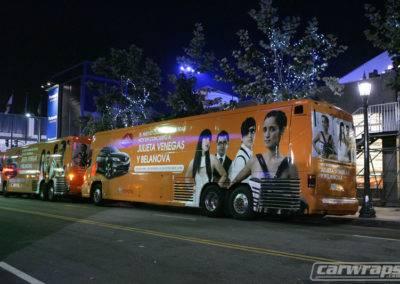 Concerto Bus Wrap