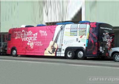 University of Phoenix Bus Wraps