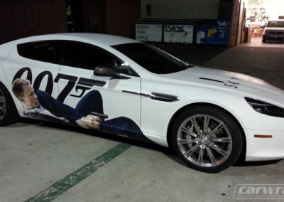 Aston Martin 007 Car Wrap