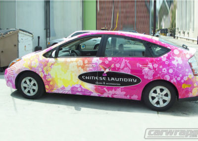 Prius Chinese Laundry Car Wraps