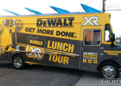 DeWalt Food Truck Wrap