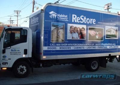 ReStore Truck Side Wrap