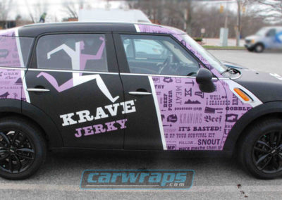 Mini Krave Jerky Car Wraps
