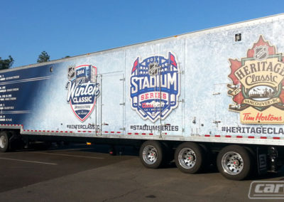 Baseball Team Logos Truck Side Wrap