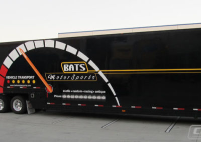 Bats Motorsport Truck Side Wrap