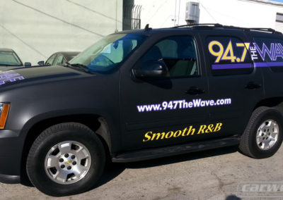 94.7 The Wave Truck Wrap