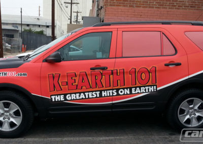 K-Earth 101 Truck Wrap