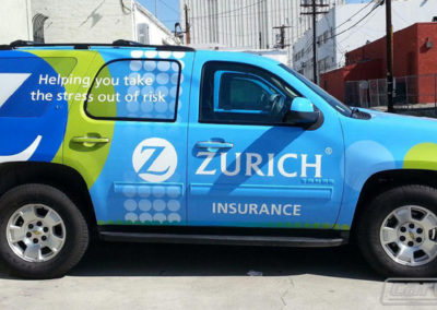 Zurich Insurance Truck Wrap