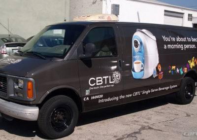 CBTL Print Van Wrap