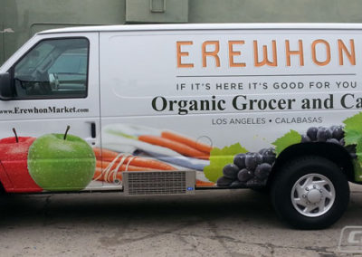 Erewhon Food Service Van Wraps