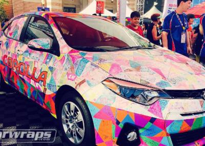 Olympics Car Wrap