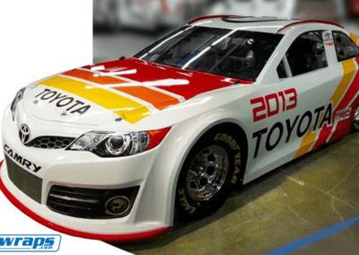 Toyota Camry Car Wrap