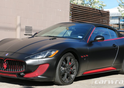 Maserati Car Wrap