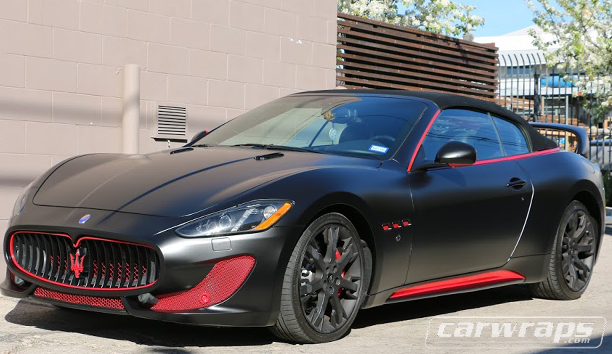 Maserati car wrap carwraps maserati car wrap sciox Gallery