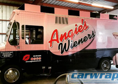 Wieners Food Truck Wrap