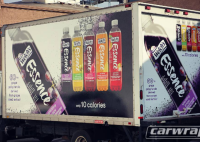 Welch's Food Truck Wrap