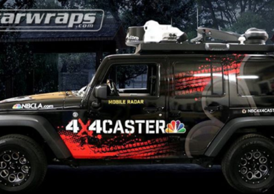 NBC Mobile Radar Car Wrap