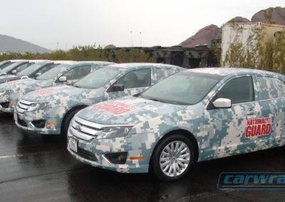 Arizona Army Guard Fleet Wrap