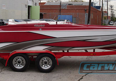 Boat Custom Wrap