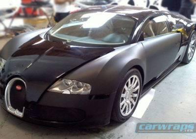 Bugati Car Wrap