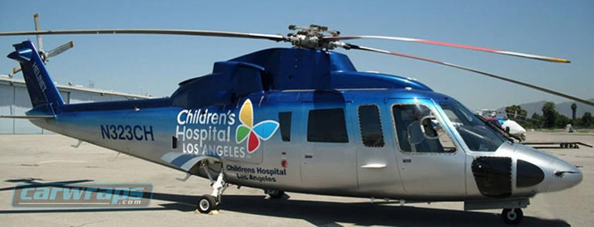 Children's Hospital Los Angeles Helicopter Custom Wrap ...