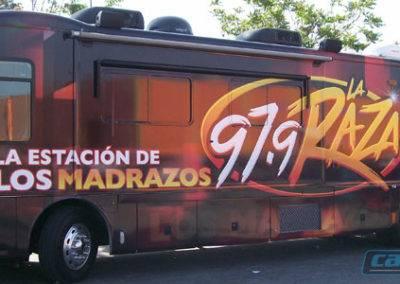 LaRaza Bus Wrap