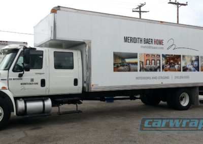 Meridith Baer Home Trailer Wrap