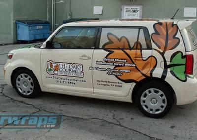 The Oaks Gourmet Car Wrap