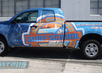 Santa Monica Bay Truck Wrap