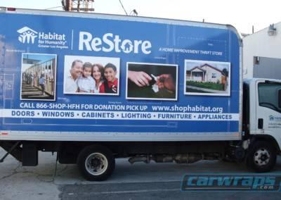 Shop Habitat Trailer Wrap