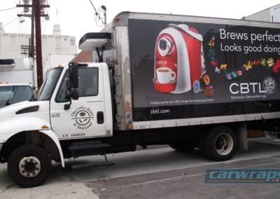 CBTL Truck Wrap