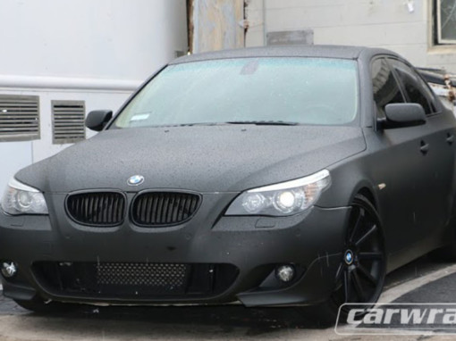 545i Car Wrap