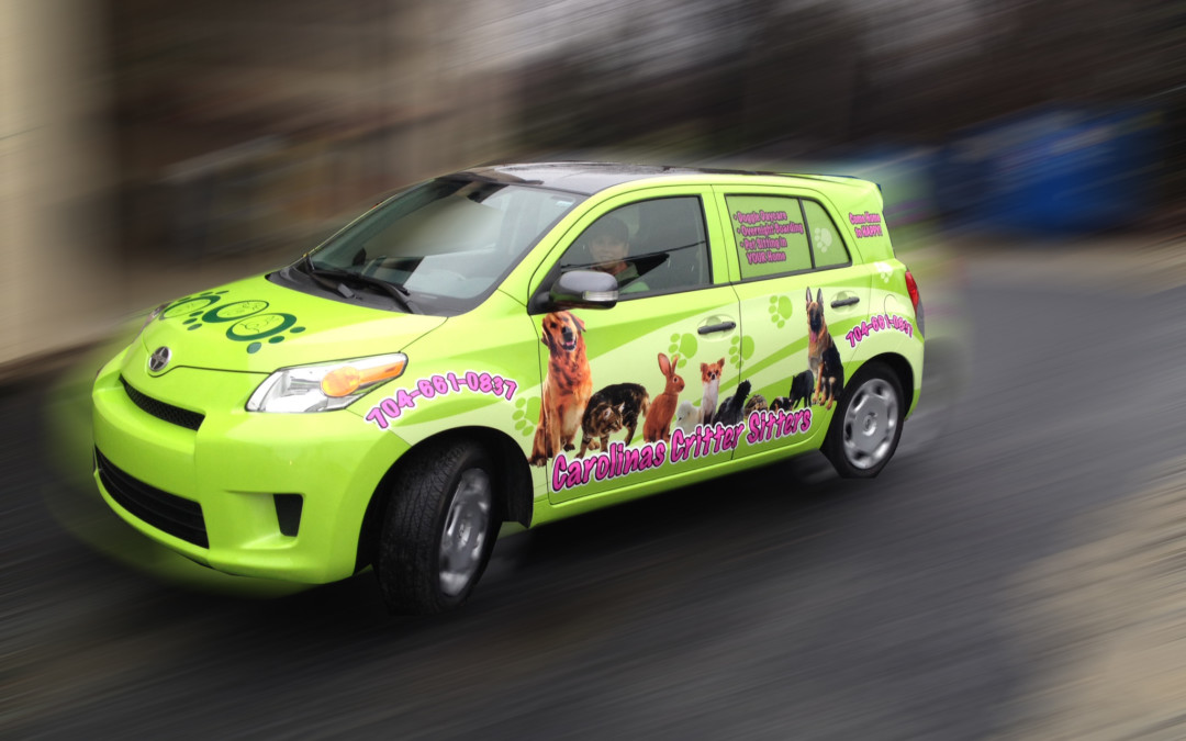 Make passive income by becoming a car wrap advertiser