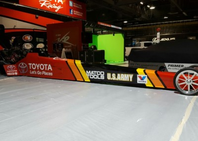 Toyota Race Car Custom Wrap