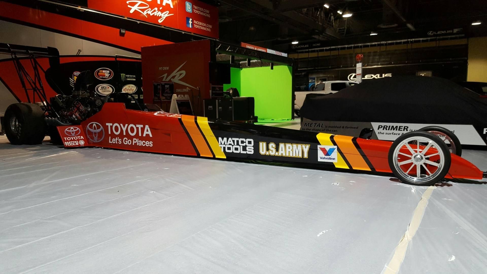 Toyota Race Car Custom Wrap Carwraps Com
