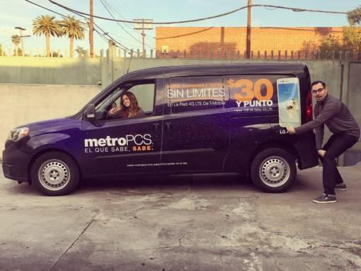 Metro PCS Van Wrap