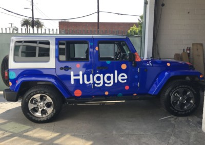Huggle Car Wrap