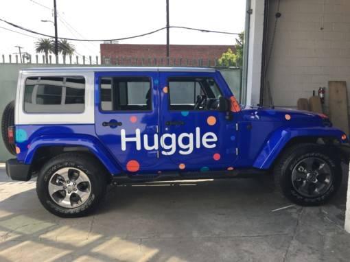 Huggle Car Wrap