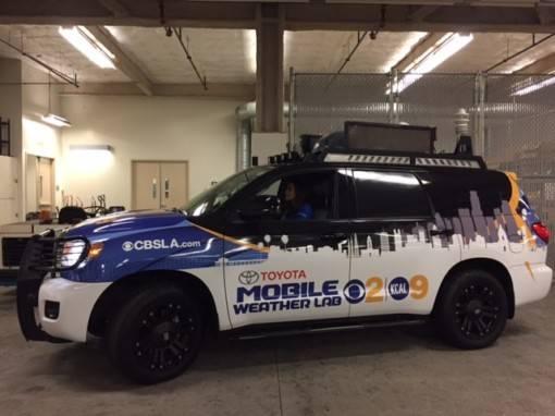 CBSLA Car Wrap