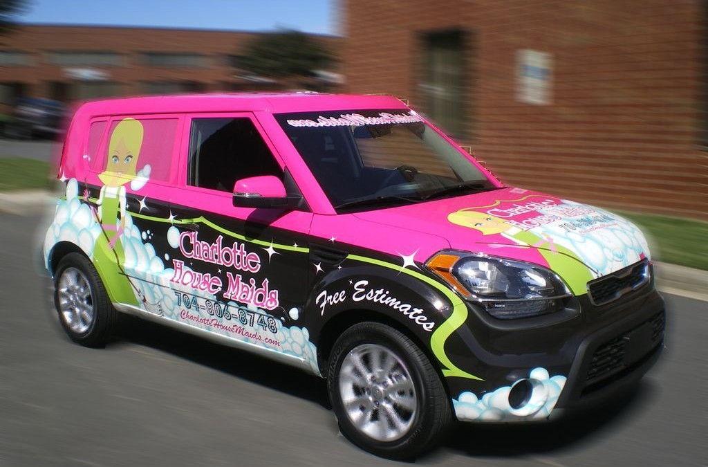 Why flashy vehicle graphics are a bad idea